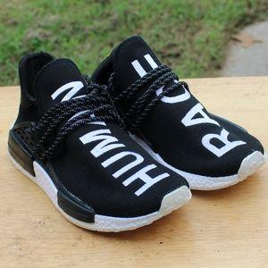 Adidas HU Human race pharrell black white UA